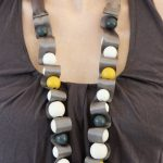 Don't Buy DIY: Multicolored Bead and Ribbon Necklace