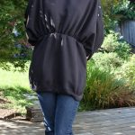 DIY: Men's XL Sweatshirts to Convertible Blouson Tunic
