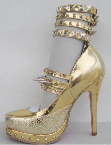 Don't Buy, DIY: Christian Louboutin for Rodarte Super-Spiked Heels ...