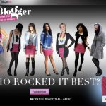 Voting Widget + Video for America's Most Stylish Blogger Challenge #3