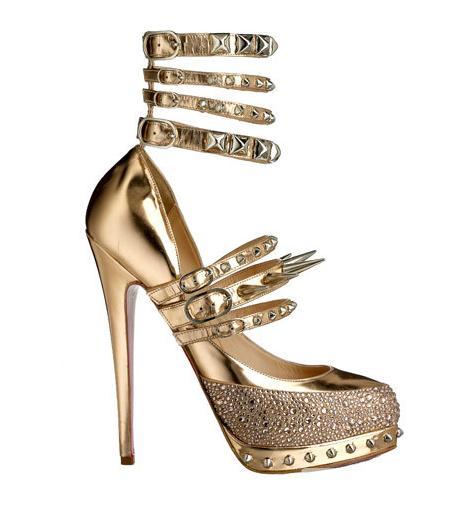 39070190ffb Don't Buy, DIY: Christian Louboutin for Rodarte Super-Spiked Heels ...