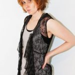 DIY: Lace Top to Lace Vest