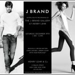 J Brand Event at the Henry Lehr Store in Soho