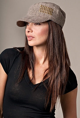brown-military-hat-with-studs_base - Chic Creative Life