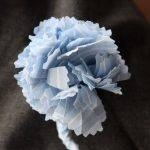 DIY Fabric Flower Patterns and a DIY Carnation Corsage Made From Shirt Fabric
