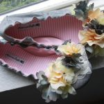 DIY Flowered Ballet Flats