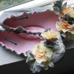 DIY Flowered Ballet Flats