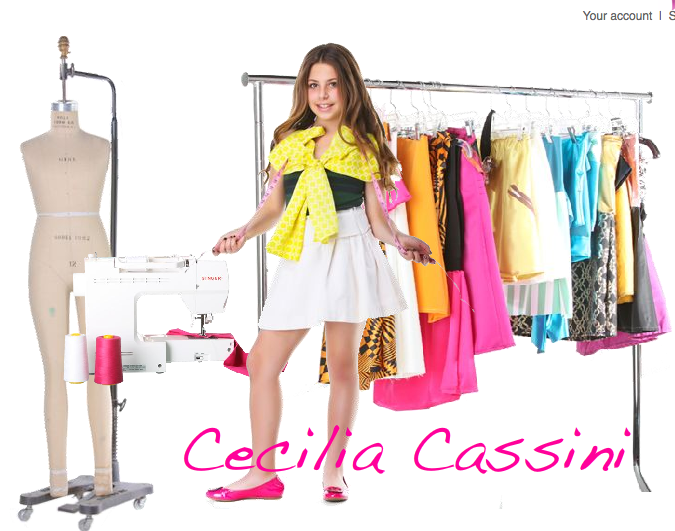 10 Year Old Fashion Designer Cecilia Cassini Yes Ten Chic Creative Life