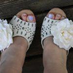 DIY Corsage Shoe Clips