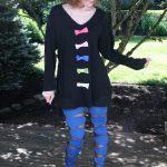 DIY: Men's Shirt to Bow Tunic Dress