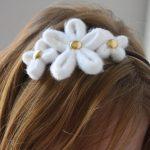 DIY Tube Flower Headband: Create Couture Challenge