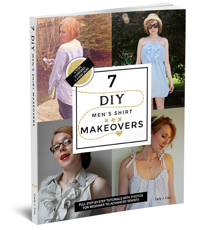 7 DIY Men's Shirt Makeovers ebook
