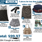 Win a $100 Marshall's Gift Card – And 7 Days of Fashion from Marshall's