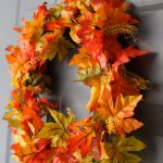 DIY Dollar Store $4 Fall Wreath