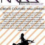 New York Design Shop's HALLOWEEN Create Couture Challenge!
