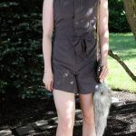 DIY: Men's Shirt to Jumpsuit Romper
