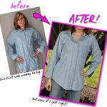 How To Re-Fit a Button-Down Shirt…To Your Size! Fitting 101