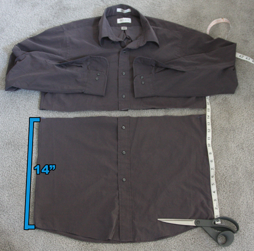 how to fix a seam on a shirt