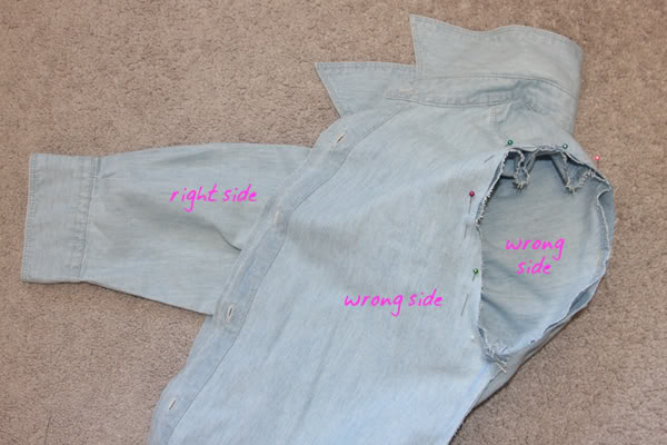 shirt refit,alteration,sewing,fitting