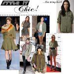 Style It Chic: Army Shirt 3 Ways