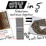 DIY in 5: Fabric Leopard Scarf