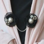 DIY: Jeweled Cardigan Clip