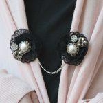 DIY: Jeweled Cardigan Clip