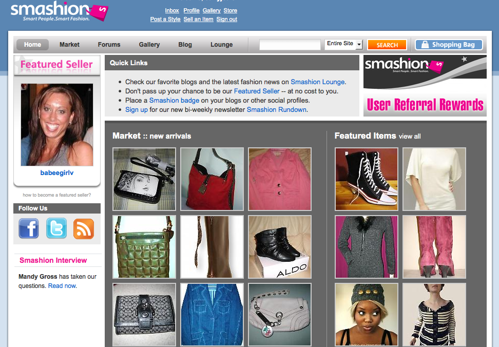 Sell Used Clothes Online >> Introducing Smashion Buy And Sell Your Clothes For No Fees Better