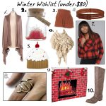 Winter Wishlist Under $80: Warm and Cozy Creature Comforts Holiday Gift Guide