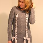 Don't Buy, DIY!: Woven Ribbon Sweater
