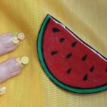 DIY Resin Watermelon Shrinky Dink Zac Posen Brooch