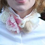 DIY J. Crew Flowered Neckpiece