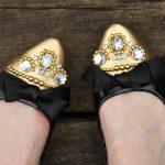 Don't Buy, DIY! Miu Miu Rhinestone-Embellished Flats Tutorial