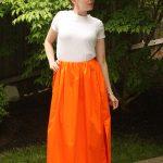 DIY Jil Sander Maxi-Skirt