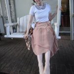 7.15.11 Outfit: Rhinestones and Pleats