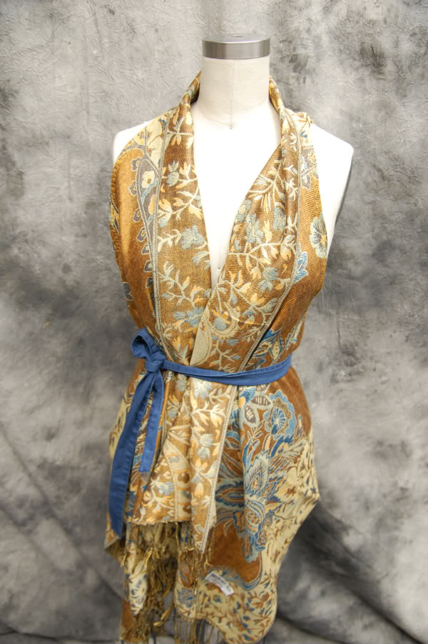 diy-scarf-into-vest-tied