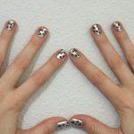 DIY Metallic Leopard Manicure