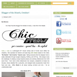 I'm so Excited to Announce that I am M&J Trimming's Blogger of the Month!