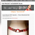 Project Runway Alum Laura Bennett Blogs DIY for Project Accessory