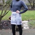 DIY Screenprinted Tree Skirt: A Plaid Simply Screen Custom Silk Screen Kit Review and Tutorial