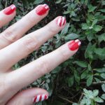 DIY Candy Cane Nails – A Holiday Manicure Using Color Dots