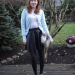 12.4.11 Outfit: Pleather and Sparkles…and What Happens to the Furry Bag