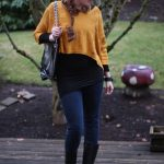 01.09.12 Outfit: First Day of School and the Spotted Collar in Action