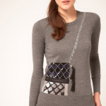 DIY Trompe L'oeil Sequin Bag Sweater