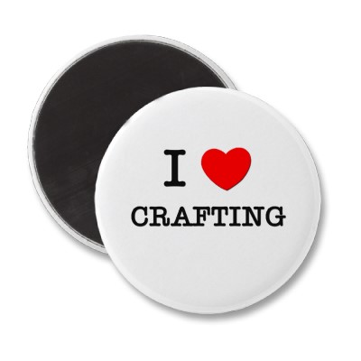 Amazon.com: I love Crafting T-Shirt: Clothing