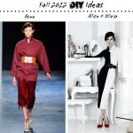 DIYs to Try from Fashion Weeks Around the World: Autumn/Winter 2012 from A-Z