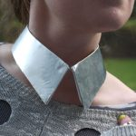 DIY Metal Collar Necklace