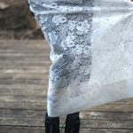DIY Lace Maxi-Skirt…Made From A Curtain!