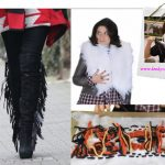 DIY Bloggers Fashion Week Tutorial 2: DIY Isabel Marant Jumper and Fringe Boots by Feed Your Style