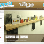 Portland's Museum of Craft Featured in Cut Out + Keep's The Road Trip Issue of Snippets Magazine